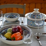 Jatte Bakir turquoise - D 20 cm