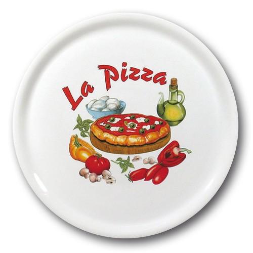 Lot de 6 assiettes à pizza Bologne - D 31 cm - Napoli