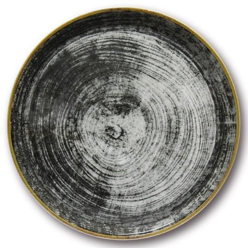 Assiette à pizza Black Round -D 31 cm