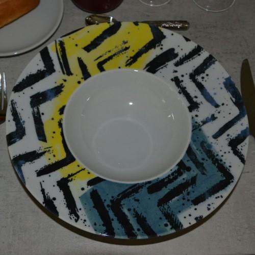 Lot de 6 assiettes à risotto Insalata - D 27,5 cm - Napoli