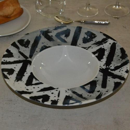 Lot de 6 assiettes à risotto Salsiccia - D 27,5 cm - Napoli