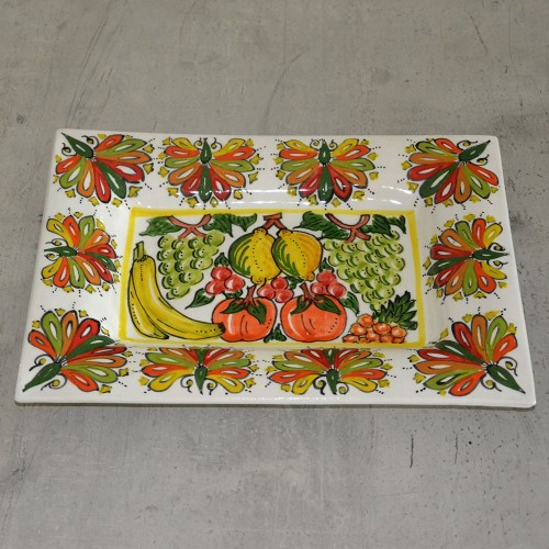 Plat rectangle décoratif Mednin