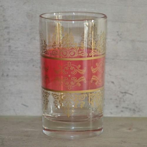 Lot de 6 verres à thé Shéhérazade Rouge