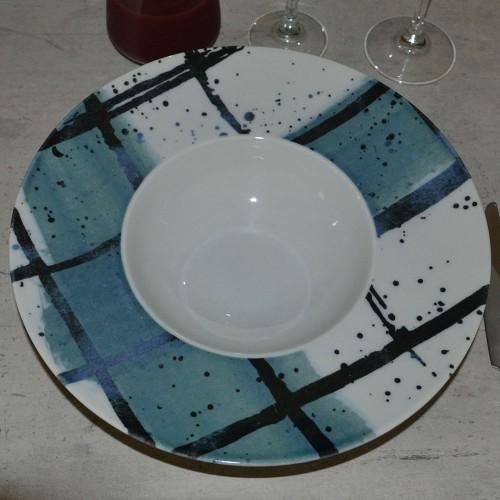 Lot de 6 assiettes à risotto Pesce - D 27,5 cm - Napoli
