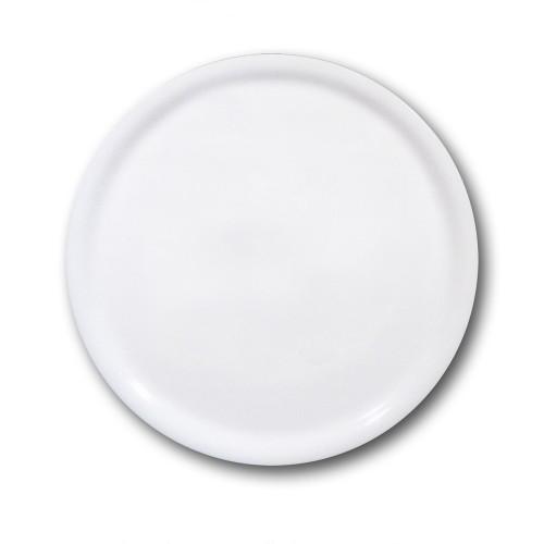 Lot de 6 assiettes à pizza porcelaine blanche - D 31 cm - Napoli