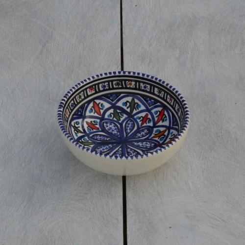 Bol Bakir bleu - D 12 cm