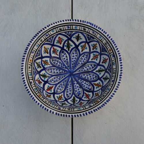 Saladier Bakir bleu - D 20 cm