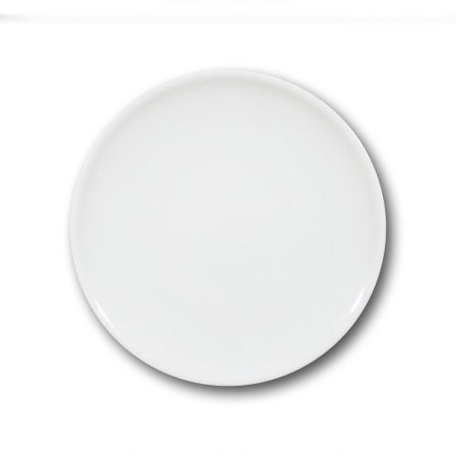 Assiette plate porcelaine blanche - D 26 cm - Siviglia