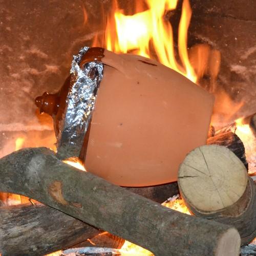Jarre de cuisson Petit Modèle en Terre Cuite