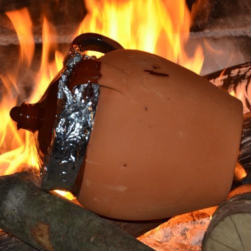 Jarre de cuisson Grand Modèle en Terre Cuite