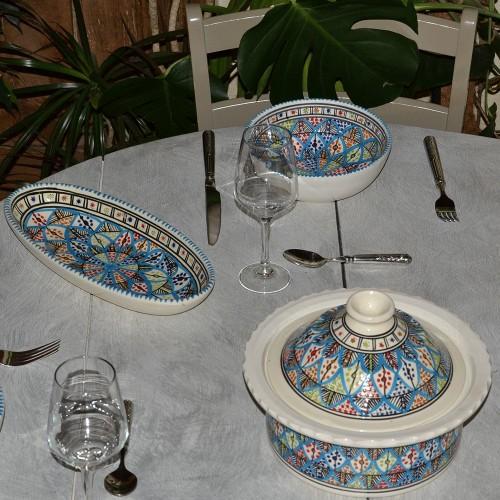 Service à soupe avec Querouana Bakir Royal - 6 pers