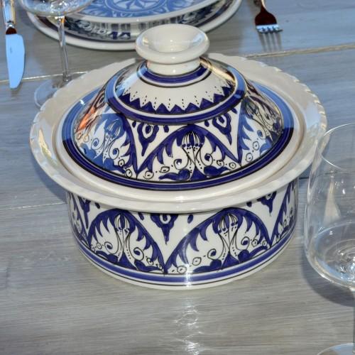 Cocotte Querouana Nejma bleu - D 20 cm