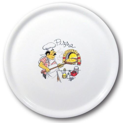 Assiette à pizza Pizzaiolo - D 33 cm - Napoli