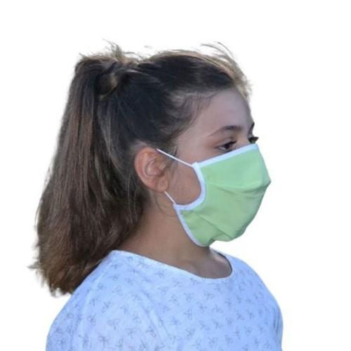 Masque Grand Public filtration supérieur à 90% couleur Vert