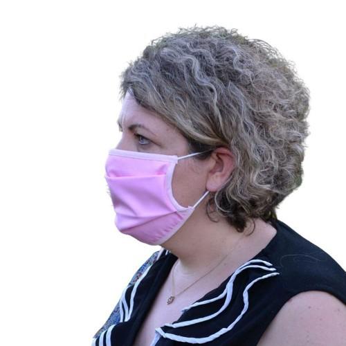 Masque Grand Public filtration supérieur à 90% couleur Rose