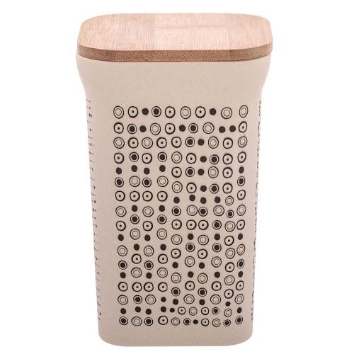 Boîte de conservation en fibre de bambou grand modèle