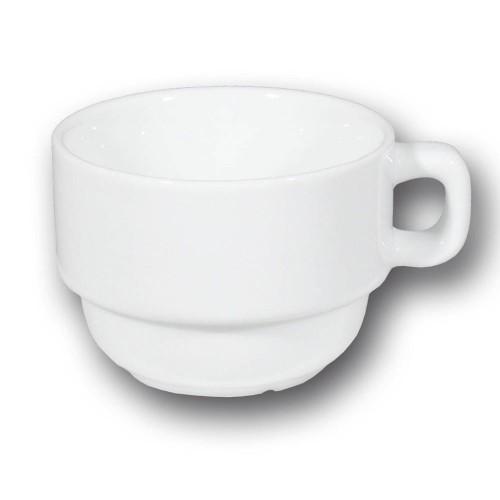 Service à thé 2 personnes porcelaine blanche - Roma