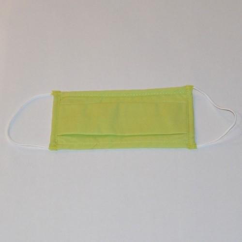Masque Grand Public filtration supérieur à 90% vert avec liseré vert