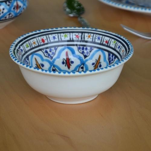 Saladier Bakir turquoise - D 20 cm