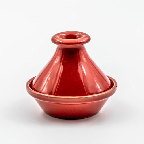 Mini tajine Uni Rouge - D 9 cm