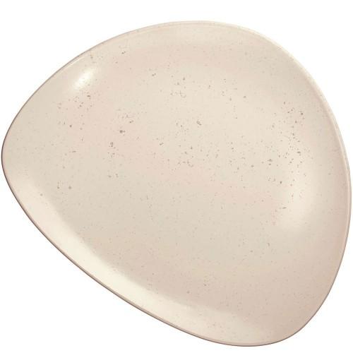 Assiette plate Cuba Crème - D 27.5 cm
