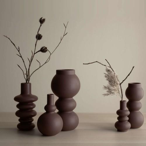 Vase Como Mocha 3 Boules- H 23.5 cm