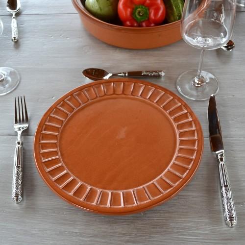 Assiette plate Carthage - D 26 cm