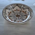 Jatte Marocain noir - D 30 cm