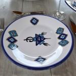 Assiette plate Sahel - Diam 28 cm