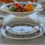Service de table Bakir vert - 6 pers