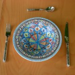 Assiette Tebsi Bakir Royal - D 23 cm