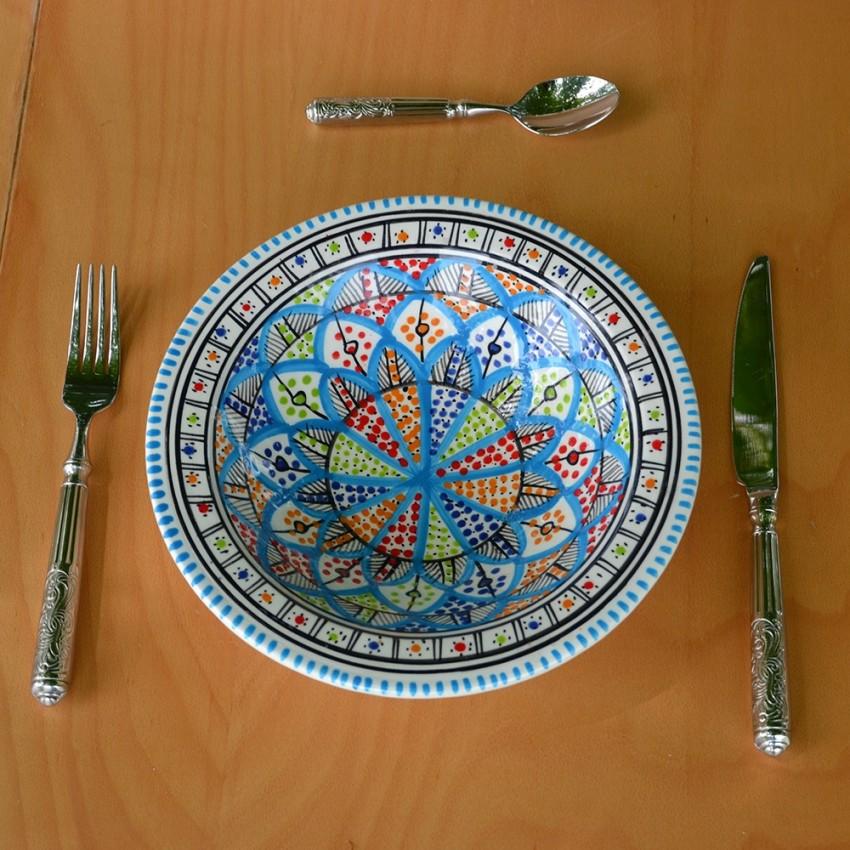 Assiette Tebsi Bakir Royal - D 23 cm