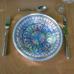 Service tajine assiettes creuses Bakir Royal - 6 pers