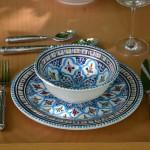 Service à soupe Bakir turquoise - 8 pers