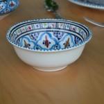 Saladier Bakir turquoise - D 25 cm