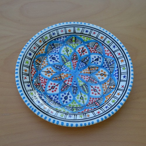 Assiette plate Bakir Royal - D 28 cm