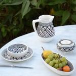 Cruche à eau Bakir gris