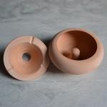 Lot de 5 cendriers marocains Terre cuite - Grand modèle