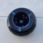 Lot 2 cendriers tatoué bleu nuit - moyen et petit modèle
