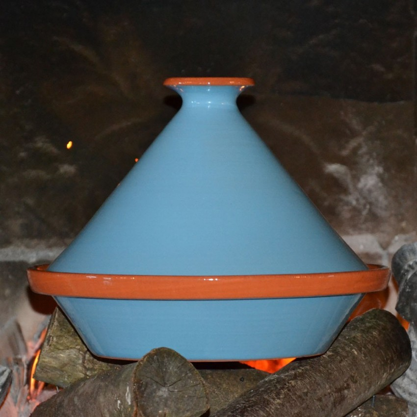 Tajine Spécial Feu Bleu - D 27 cm