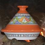 Tajine Marocain Vert - D 30 cm
