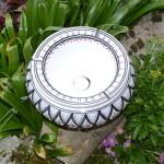 Cendrier marocain Bakir gris - Très Grand modèle