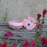 Cendrier Tatoué Rose - Moyen modèle
