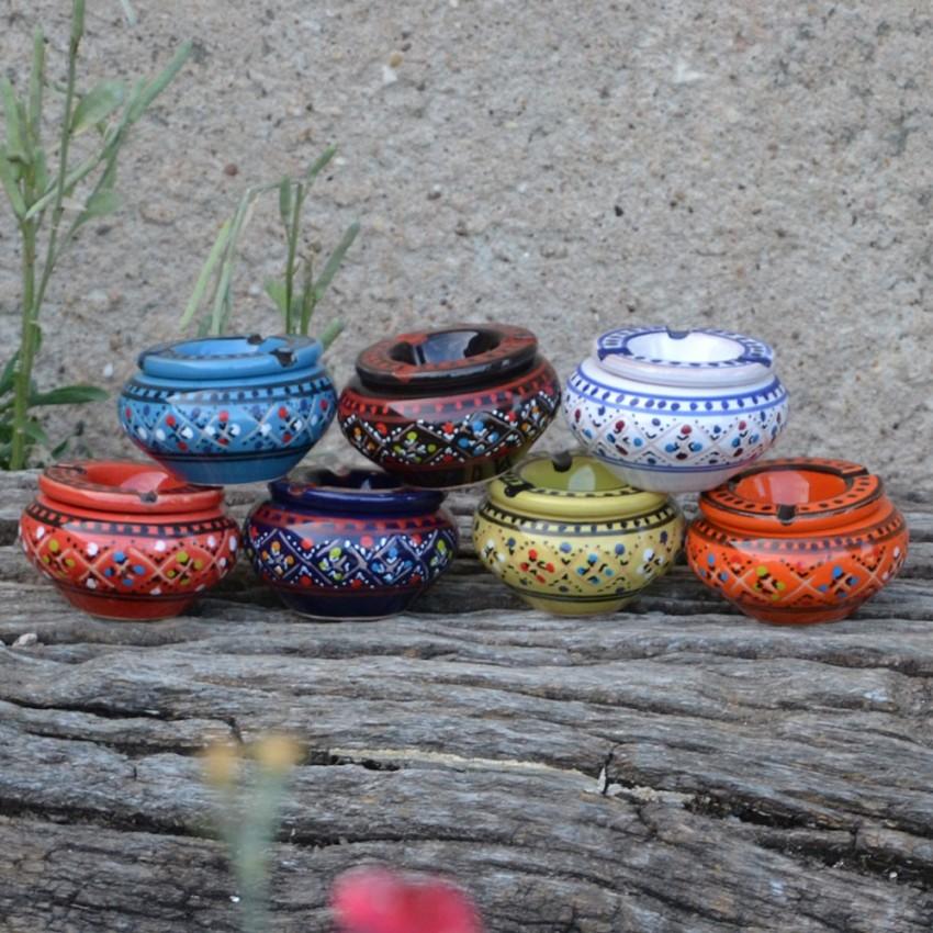 Lot 7 mini cendriers Marrakech - Mini modèle