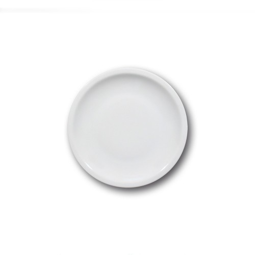 Lot de 6 assiettes à dessert porcelaine - D 19 cm - Roma