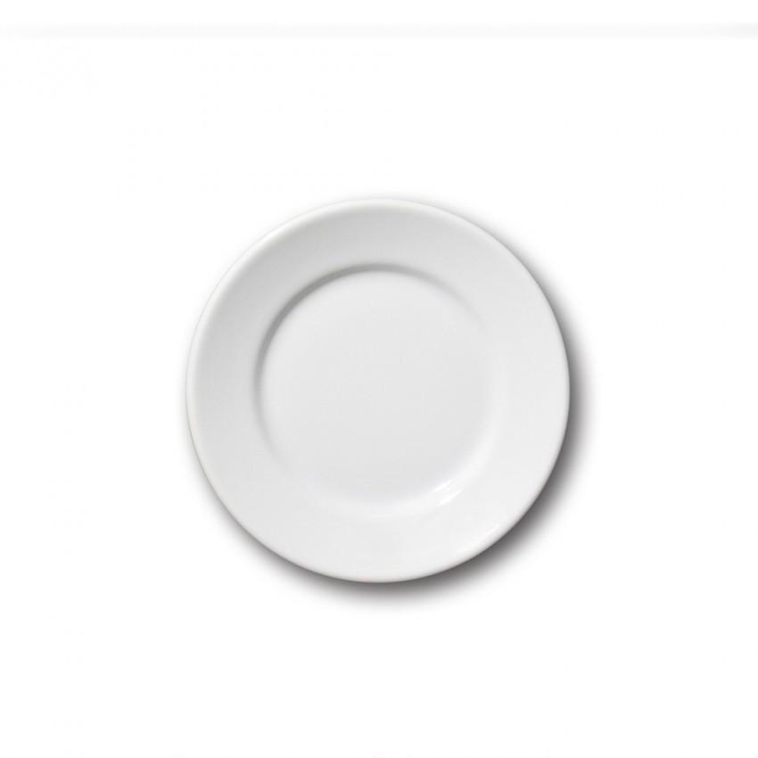 Assiette à dessert porcelaine blanche - D 17 cm - Tivoli