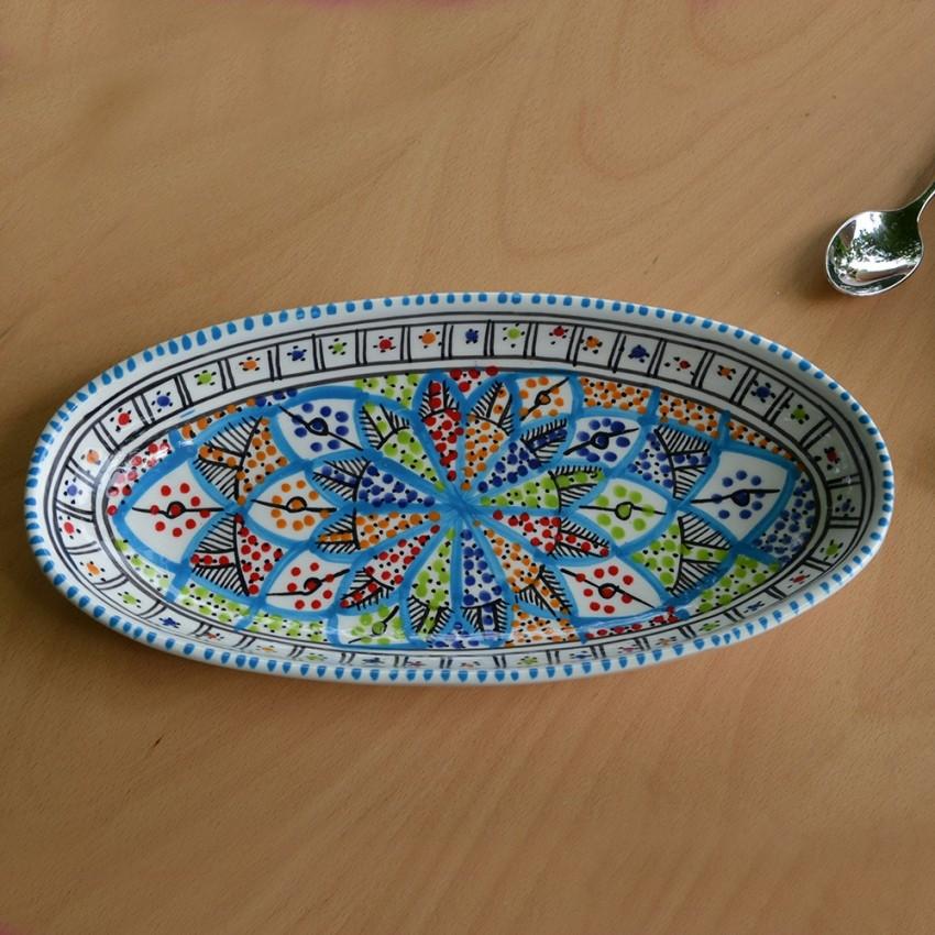 Plat ovale Bakir Royal - L 20 cm