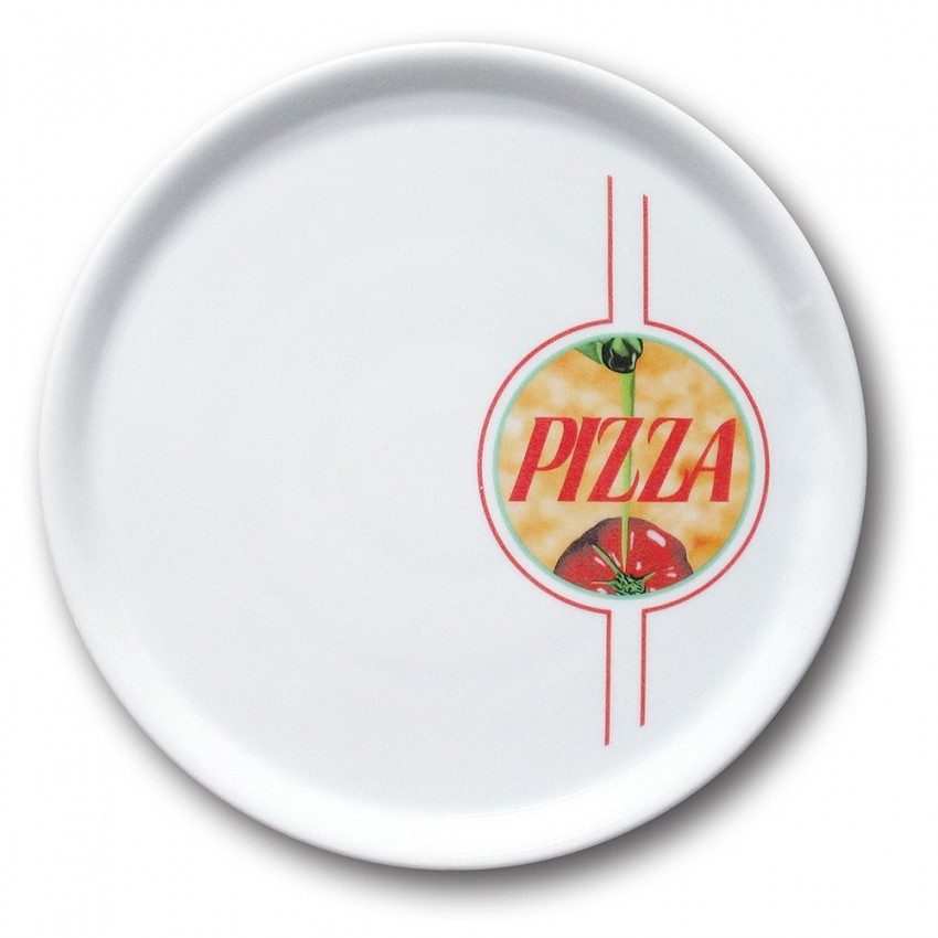 Lot de 6 assiettes à pizza Palerme - D 31 cm - Napoli