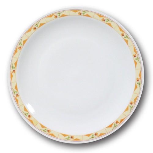 Lot de 6 assiettes plates Souvenir - D 26 cm