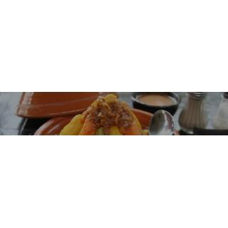 Assiettes à couscous par 6